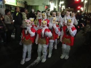 狐の行列!!