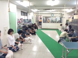 ハンドリング実技授業!